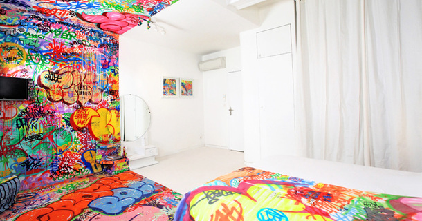 This Mind-Bending Picture Is Of One Room In A French Hotel